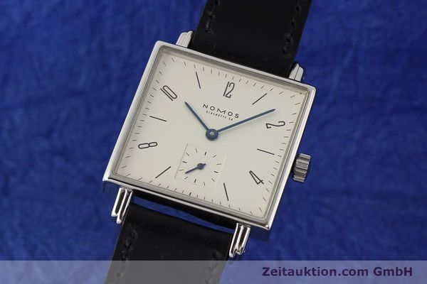 Used luxury watch Nomos Tetra steel manual winding Kal. ETA 7001  | 142408 04