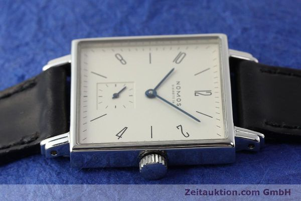 Used luxury watch Nomos Tetra steel manual winding Kal. ETA 7001  | 142408 05