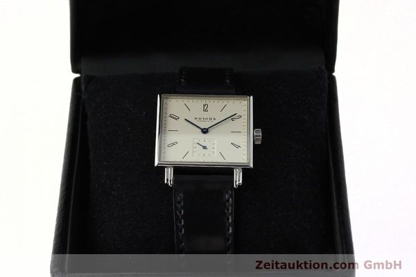 Used luxury watch Nomos Tetra steel manual winding Kal. ETA 7001  | 142408 07