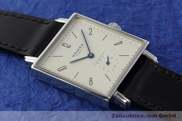 Used luxury watch Nomos Tetra steel manual winding Kal. ETA 7001  | 142408 14