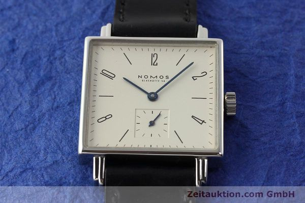 Used luxury watch Nomos Tetra steel manual winding Kal. ETA 7001  | 142408 15