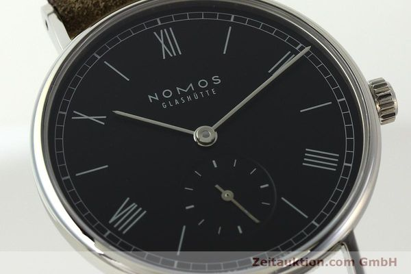 Used luxury watch Nomos Ludwig steel manual winding Kal. Alpha 73916  | 142410 02