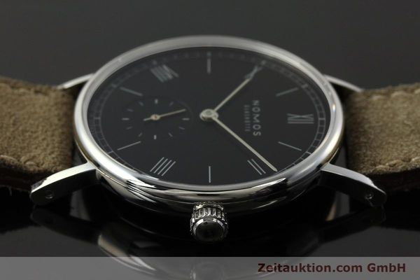 Used luxury watch Nomos Ludwig steel manual winding Kal. Alpha 73916  | 142410 05
