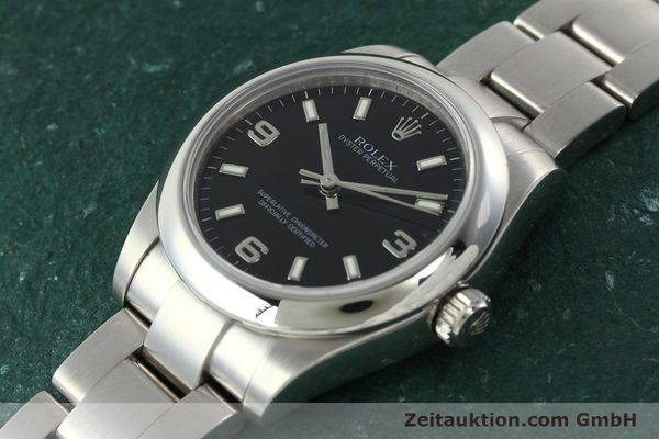 Used luxury watch Rolex Oyster Perpetual steel automatic Kal. 2231 Ref. 177200  | 142413 01