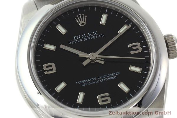 Used luxury watch Rolex Oyster Perpetual steel automatic Kal. 2231 Ref. 177200  | 142413 02