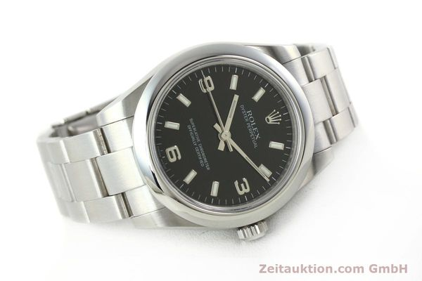 Used luxury watch Rolex Oyster Perpetual steel automatic Kal. 2231 Ref. 177200  | 142413 03