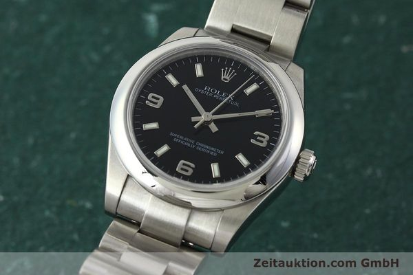 Used luxury watch Rolex Oyster Perpetual steel automatic Kal. 2231 Ref. 177200  | 142413 04