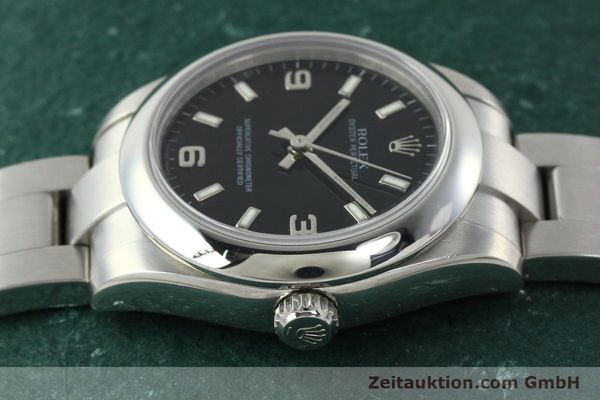 Used luxury watch Rolex Oyster Perpetual steel automatic Kal. 2231 Ref. 177200  | 142413 05