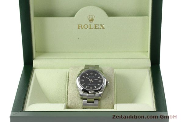 Used luxury watch Rolex Oyster Perpetual steel automatic Kal. 2231 Ref. 177200  | 142413 07