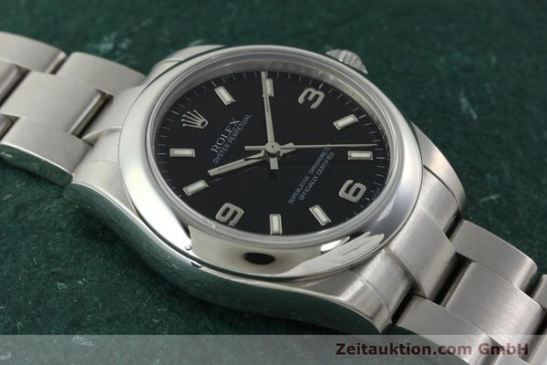 Used luxury watch Rolex Oyster Perpetual steel automatic Kal. 2231 Ref. 177200  | 142413 17