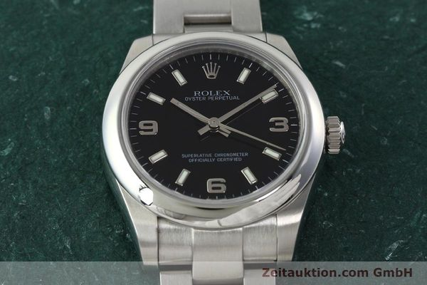 Used luxury watch Rolex Oyster Perpetual steel automatic Kal. 2231 Ref. 177200  | 142413 18