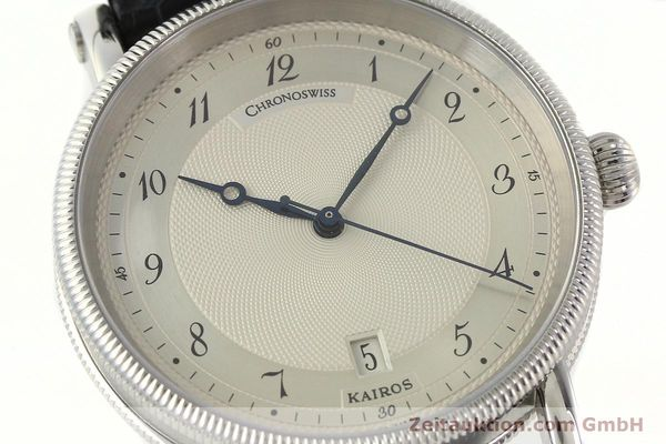Used luxury watch Chronoswiss Kairos steel automatic Kal. ETA 2892A2 Ref. CH2823  | 142414 02