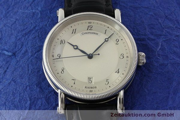 Used luxury watch Chronoswiss Kairos steel automatic Kal. ETA 2892A2 Ref. CH2823  | 142414 16