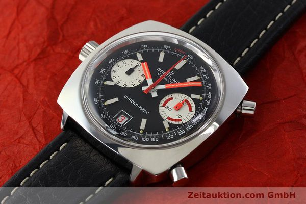 Used luxury watch Breitling Chrono-Matic chronograph steel automatic Kal. 112 Ref. 2111  | 142415 01