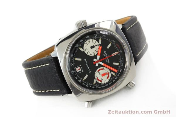 Used luxury watch Breitling Chrono-Matic chronograph steel automatic Kal. 112 Ref. 2111  | 142415 03