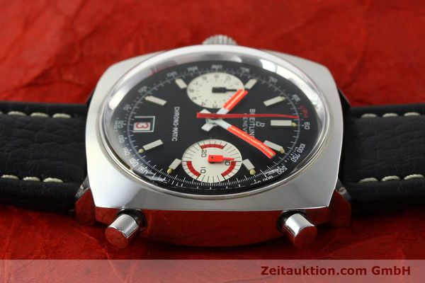 Used luxury watch Breitling Chrono-Matic chronograph steel automatic Kal. 112 Ref. 2111  | 142415 05