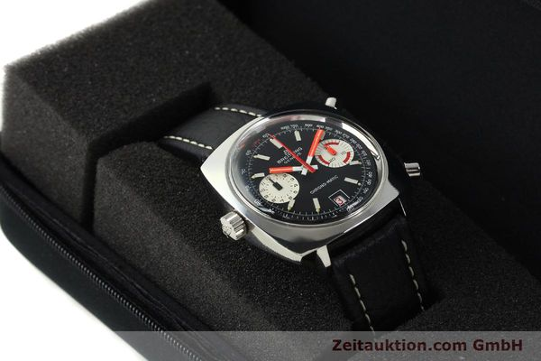 Used luxury watch Breitling Chrono-Matic chronograph steel automatic Kal. 112 Ref. 2111  | 142415 07