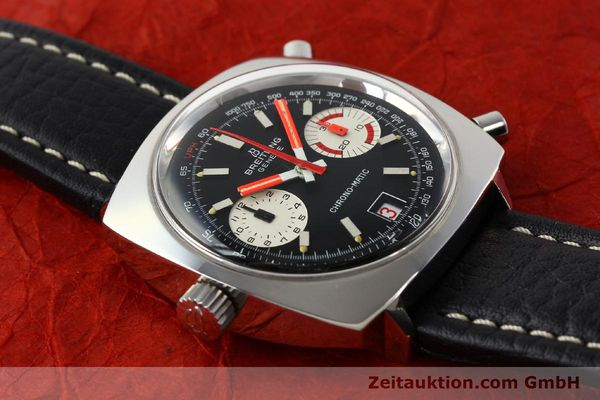 Used luxury watch Breitling Chrono-Matic chronograph steel automatic Kal. 112 Ref. 2111  | 142415 13