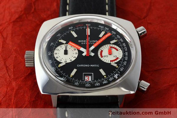 Used luxury watch Breitling Chrono-Matic chronograph steel automatic Kal. 112 Ref. 2111  | 142415 14