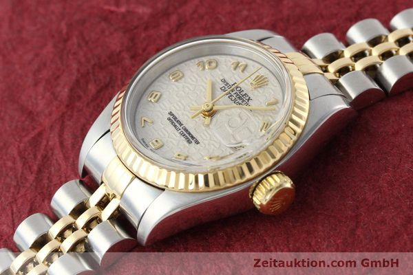 montre de luxe d occasion Rolex Lady Datejust acier / or  automatique Kal. 2135 Ref. 69173  | 142416 01