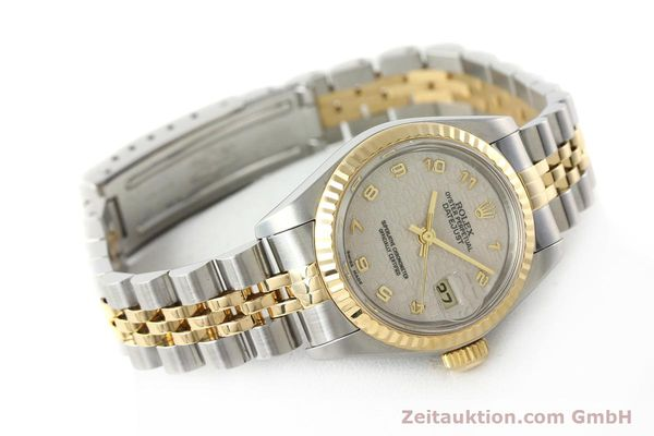 montre de luxe d occasion Rolex Lady Datejust acier / or  automatique Kal. 2135 Ref. 69173  | 142416 03