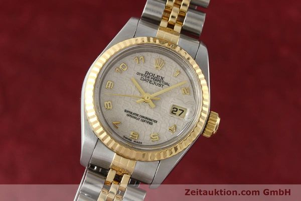 montre de luxe d occasion Rolex Lady Datejust acier / or  automatique Kal. 2135 Ref. 69173  | 142416 04