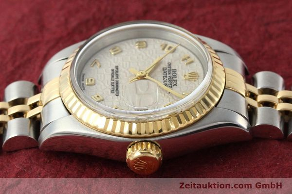 montre de luxe d occasion Rolex Lady Datejust acier / or  automatique Kal. 2135 Ref. 69173  | 142416 05