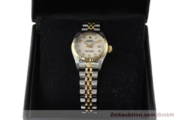 montre de luxe d occasion Rolex Lady Datejust acier / or  automatique Kal. 2135 Ref. 69173  | 142416 07