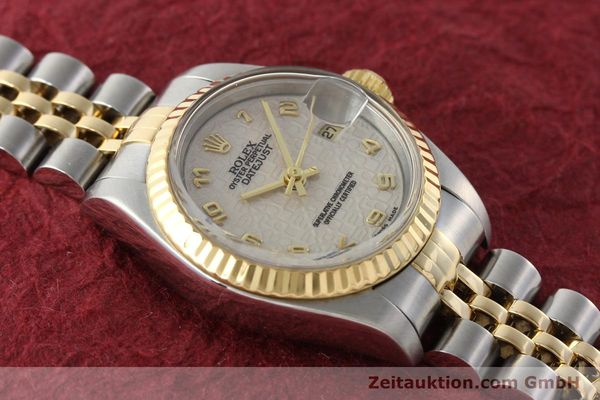 montre de luxe d occasion Rolex Lady Datejust acier / or  automatique Kal. 2135 Ref. 69173  | 142416 15