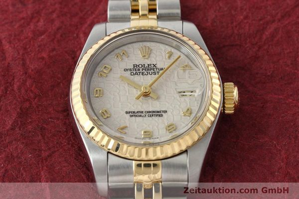 montre de luxe d occasion Rolex Lady Datejust acier / or  automatique Kal. 2135 Ref. 69173  | 142416 16