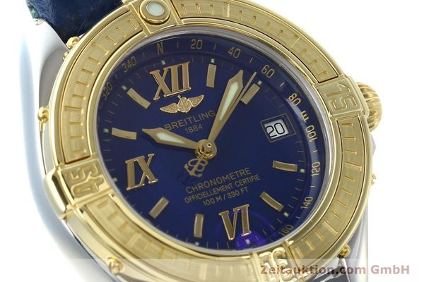 Used luxury watch Breitling B-Class steel / gold quartz Kal. B67 Ref. D67365  | 142417 02