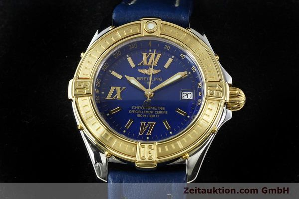 Used luxury watch Breitling B-Class steel / gold quartz Kal. B67 Ref. D67365  | 142417 07