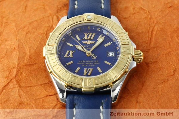 Used luxury watch Breitling B-Class steel / gold quartz Kal. B67 Ref. D67365  | 142417 14