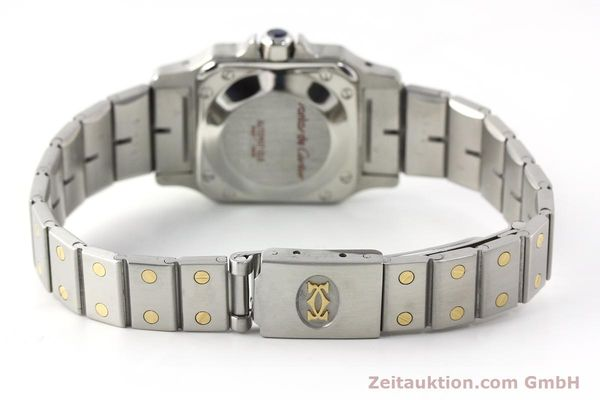 Used luxury watch Cartier Santos steel / gold automatic Kal. ETA 2670  | 142426 10
