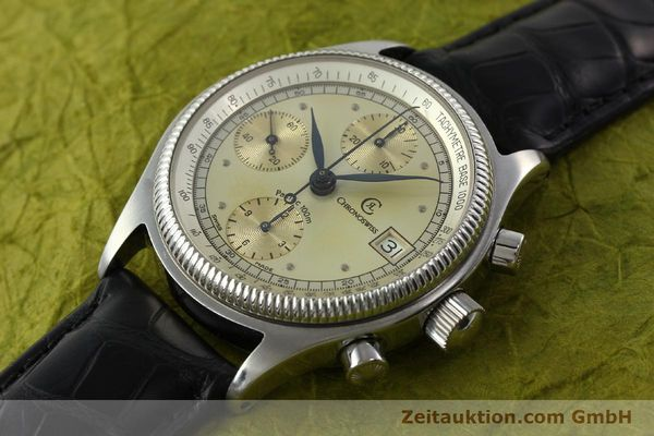 Used luxury watch Chronoswiss Pacific chronograph steel automatic Kal. VAL 7750 Ref. 1333  | 142427 01