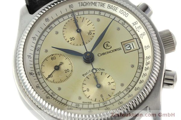 Used luxury watch Chronoswiss Pacific chronograph steel automatic Kal. VAL 7750 Ref. 1333  | 142427 02