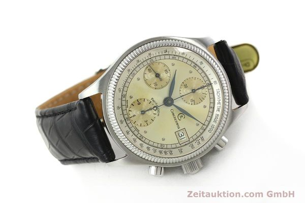 gebrauchte Luxusuhr Chronoswiss Pacific Chronograph Stahl Automatik Kal. VAL 7750 Ref. 1333  | 142427 03