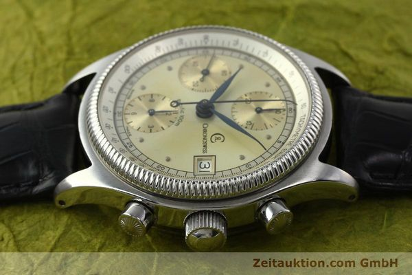 gebrauchte Luxusuhr Chronoswiss Pacific Chronograph Stahl Automatik Kal. VAL 7750 Ref. 1333  | 142427 05