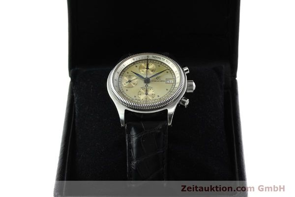 Used luxury watch Chronoswiss Pacific chronograph steel automatic Kal. VAL 7750 Ref. 1333  | 142427 07