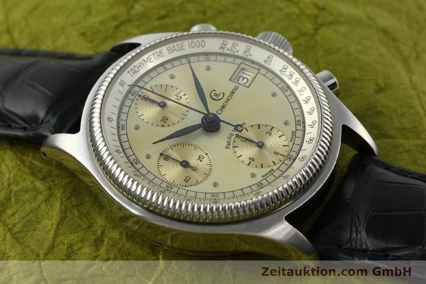 Used luxury watch Chronoswiss Pacific chronograph steel automatic Kal. VAL 7750 Ref. 1333  | 142427 13