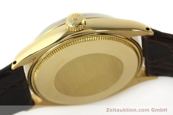 Used luxury watch Rolex Oyster Perpetual 18 ct gold automatic Kal. 1560 Ref. 1005/1002  | 142429 08