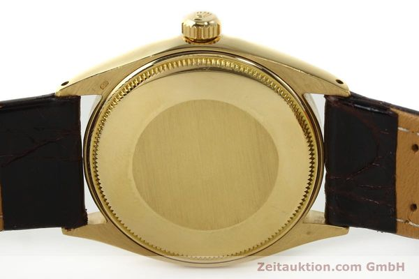Used luxury watch Rolex Oyster Perpetual 18 ct gold automatic Kal. 1560 Ref. 1005/1002  | 142429 09
