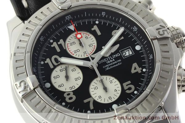 Used luxury watch Breitling Avenger chronograph steel automatic Kal. B13 ETA 7750 Ref. A13370  | 142430 02