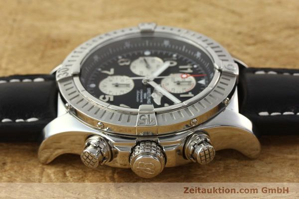 Used luxury watch Breitling Avenger chronograph steel automatic Kal. B13 ETA 7750 Ref. A13370  | 142430 05
