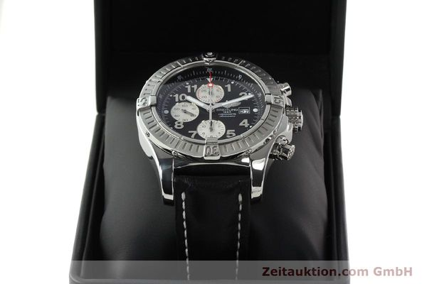 Used luxury watch Breitling Avenger chronograph steel automatic Kal. B13 ETA 7750 Ref. A13370  | 142430 07