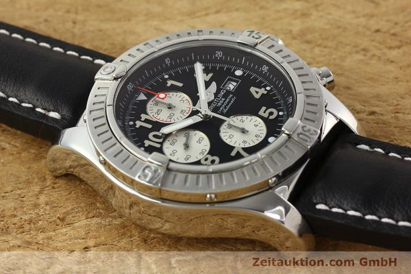 Used luxury watch Breitling Avenger chronograph steel automatic Kal. B13 ETA 7750 Ref. A13370  | 142430 13