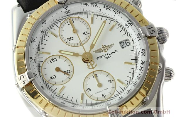 Used luxury watch Breitling Chronomat chronograph steel / gold automatic Kal. B13 ETA 7750 Ref. D13048  | 142433 02