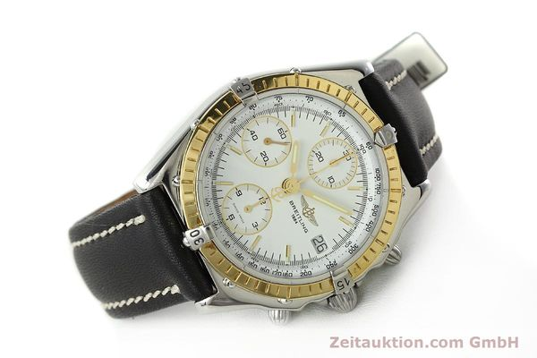 Used luxury watch Breitling Chronomat chronograph steel / gold automatic Kal. B13 ETA 7750 Ref. D13048  | 142433 03