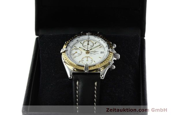 Used luxury watch Breitling Chronomat chronograph steel / gold automatic Kal. B13 ETA 7750 Ref. D13048  | 142433 07