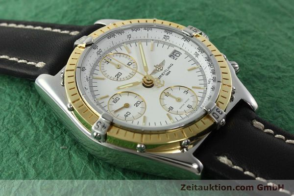 Used luxury watch Breitling Chronomat chronograph steel / gold automatic Kal. B13 ETA 7750 Ref. D13048  | 142433 13